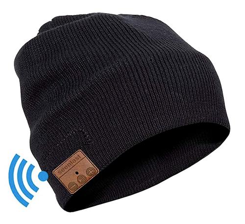 Seenlast Bluetooth Beanie Mütze mit Kopfhörern für nur 8,99 Euro