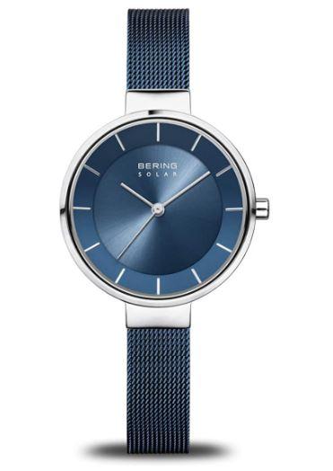 Bering Damen Analog Solar Uhr 14631-307 mit Edelstahl Armband für nur 72,- Euro