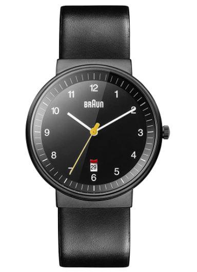 Braun Herren Analog Quarz Armbanduhr für nur 67,39 Euro