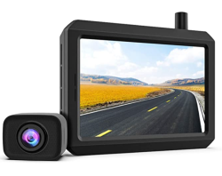 Kabellos K7PRO Rückfahrkamera-Set mit 5″ HD Monitor für nur 97,49 Euro statt 129,- Euro
