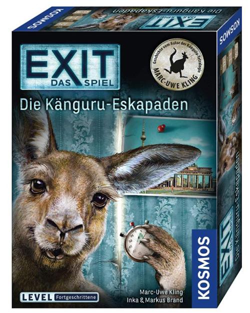 KOSMOS 695071 EXIT – Das Spiel – Die Känguru-Eskapaden (Level: Fortgeschritten) für nur 9,99 Euro