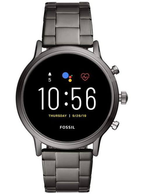 Fossil Herren The Carlyle HR Smartwatch 5. Generation (Lautsprecher, GPS, NFC) für nur 179,- Euro (statt 220,- Euro)