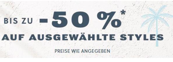 Frühjahrs Sale: 50% Rabatt auf ausgewählte Styles bei Fossil
