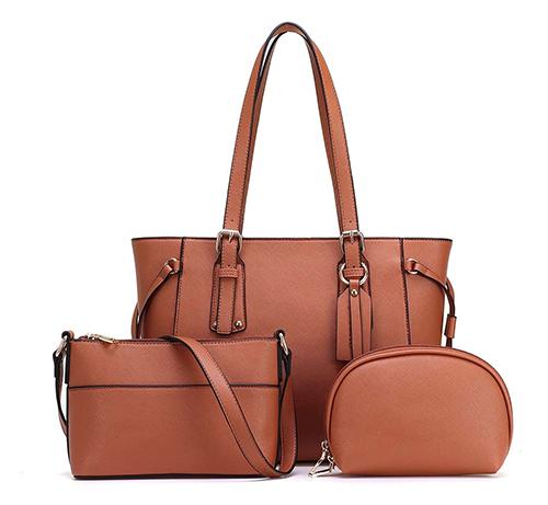 3-teiliges JOSEKO Damen Handtaschen-Set für nur 21,43 Euro