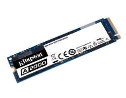 Kingston A2000 250 GB NVMe PCIe 3.0 x4, M.2 SSD für 31,79 Euro