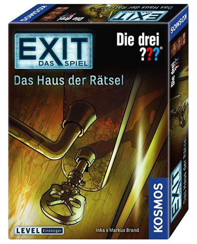 Kosmos 694043 – EXIT Spiel Das Haus der Rätsel – Die Drei??? für nur 9,62 Euro