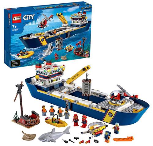 LEGO City 60266 Meeresforschungsschiff für nur 84,99€ inkl. Versand