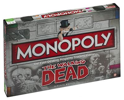 Monopoly The Walking Dead Edition (Englisch) für nur 29,99 Euro