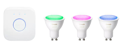 PHILIPS Hue White & Color Ambiance 3-er Bluetooth Starter Kit für nur 106,38 Euro inkl. Versand