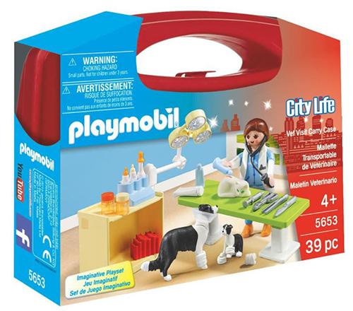 Playmobil 5653 – City Life – Tierarzt im Spielkoffer für nur 11,28 Euro (statt 20,- Euro)