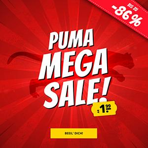 Versandkostenfrei: Bis zu 89% Rabatt im großen PUMA Mega-Sale bei SportSpar