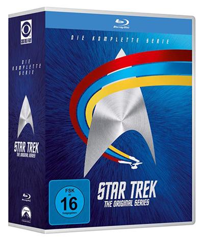 STAR TREK: Raumschiff Enterprise – Complete Boxset [Blu-ray] für nur 36,97 Euro