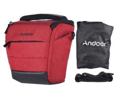 Nur wenige verfügbar: Andoer DSLR-Kameratasche in rot nur 10,- Euro statt 19,99 Euro