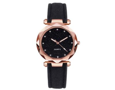 ShilnfUS Damen Quartz Uhr (Leder Armband) für nur 3,98 Euro inkl. Versand
