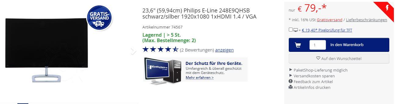 Philips-Monitor