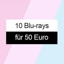 10 Blu-rays für 50,- Euro bei Amazon