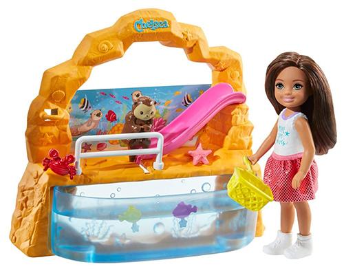 Barbie GHV75 – Club Chelsea Aquarium Spielset (ab 3 Jahren) für nur 13,53 Euro (statt 19,90 Euro)