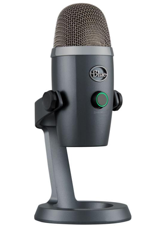 BLUE MICROPHONES Yeti Nano Premium USB Mikrofon in Shadow Grey für nur 71,99€ inkl. Versand als Club Mitglied (statt 103€)