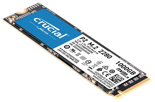 Crucial P2 SSD 1 TB M.2 2280 PCI Express 3.0 x4 (NVMe) für nur 84,99 Euro inkl. Versand