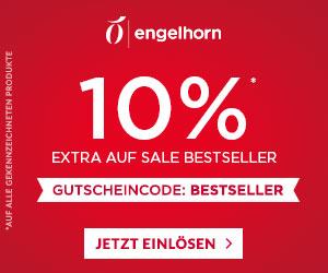 Engelhorn: 10% Extra-Rabatt auf über 4.300 ausgewählte Sale-Bestseller