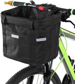 Leeofty Lenker Fahrradkorb für nur 16,99 Euro