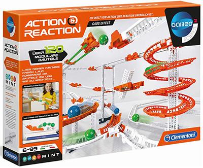 Clementoni 59126 Galileo Science – Action & Reaction Chaos-Effekt Kugelbahn für nur 19,39 Euro
