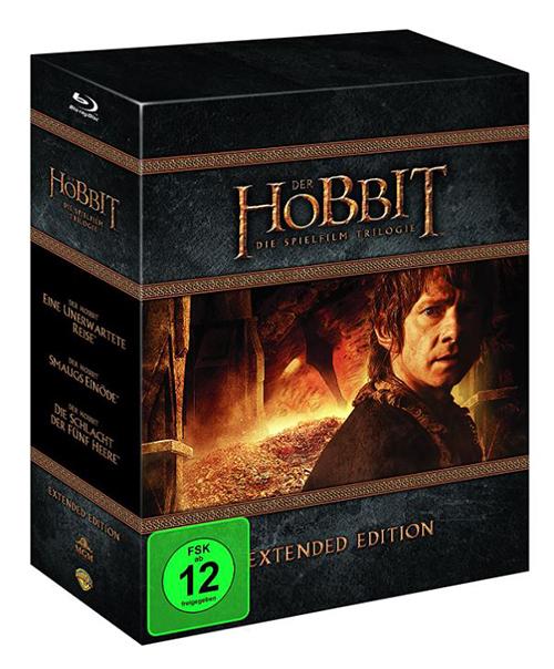 Der Hobbit Trilogie – Extended Edition [Blu-ray] für nur 23,76 Euro inkl. Versand