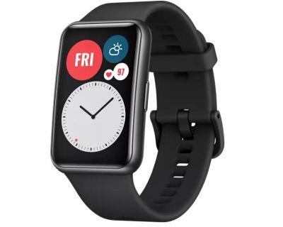 Huawei Watch Fit Graphite Black Smartwatch Silikon 80-120 mm für nur 79,- Euro inkl. Versand