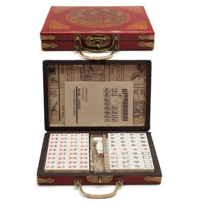 Leeofty Mahjong-Brettspiel im Koffer für nur 21,89 Euro inkl. Versand