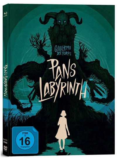 Pans Layrinth – Mediabook (3-Disc Limited Collector's Edition /+ Blu-ray + DVD + Bonus-Blu-ray) für nur 11,97 Euro