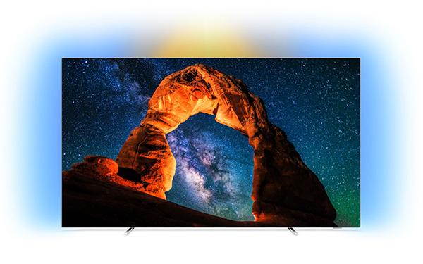 Philips 65OLED803/12 65 Zoll 4K/UHD OLED Smart TV mit HDR10 und Ambilight für nur 1.999,- Euro (statt 3.299,- Euro)