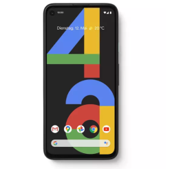GOOGLE Pixel 4a 128 GB Just Black Dual SIM für 299,- Euro
