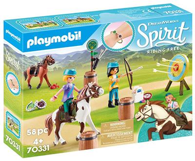 Playmobil 70331 DreamWorks Spirit Abenteuer im Freien mit Abigail und Boomerang für nur 10,06 Euro