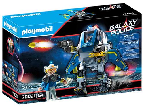 PLAYMOBIL Galaxy Police 70021 Police-Roboter mit Lichteffekt (ab 5 Jahren) für nur 15,35 Euro