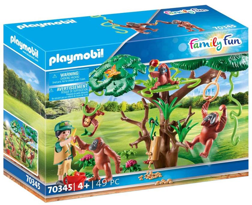 PLAYMOBIL 70345 Orang Utans im Baum (ab 4 Jahren) für nur 9,05 Euro (statt 19,- Euro)