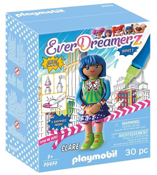 PLAYMOBIL- EverDreamerz 70477 Clare – Comic World mit Wasserstift für nur 8,02 Euro