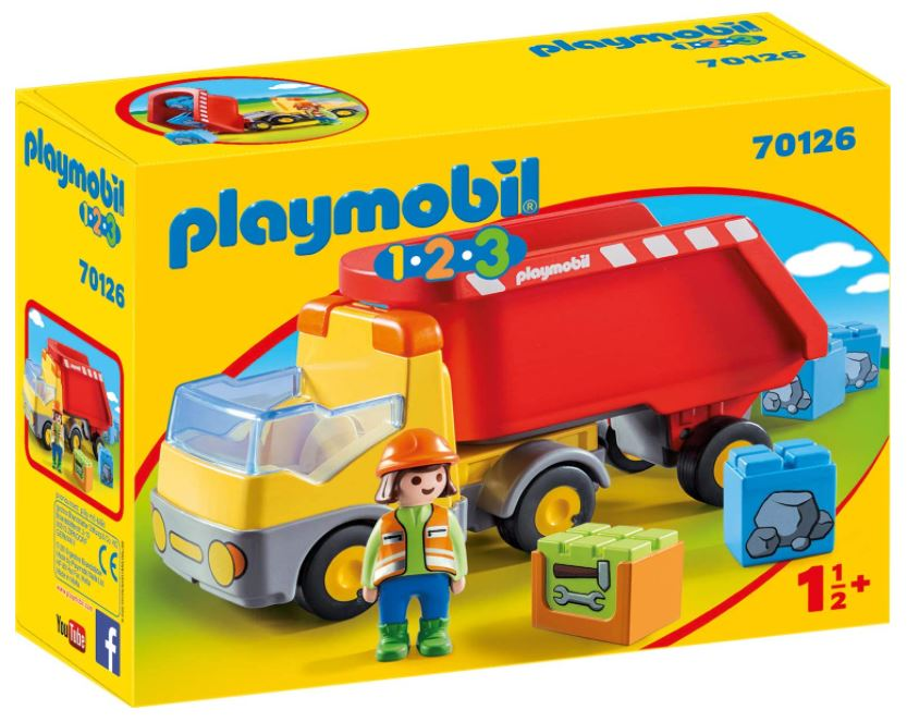 PLAYMOBIL 70126 1.2.3 Kipplaster für nur 10,43 Euro
