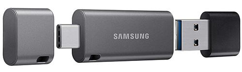 Samsung DUO Plus USB 3.1 Typ-C Stick (256 GB, 400 MB/s) für nur 36,33€