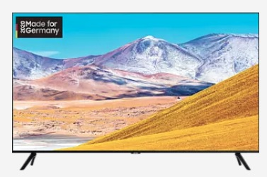 55″ SAMSUNG GU55TU8079 LED TV für 458,99,- Euro