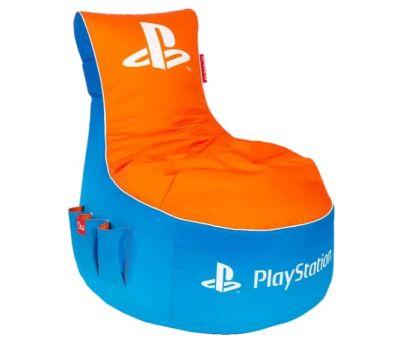 Gamewarez PlayStation Vivid Gaming Sitzsack Blau/Orange für nur 77,97 Euro inkl. Versand