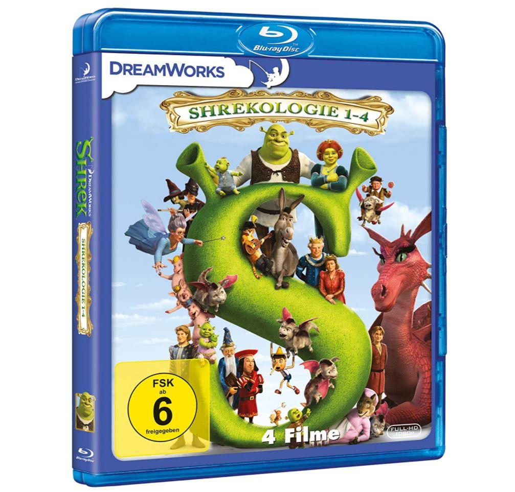 Shrekologie 1-4 [Blu-ray] für nur 12,97 Euro