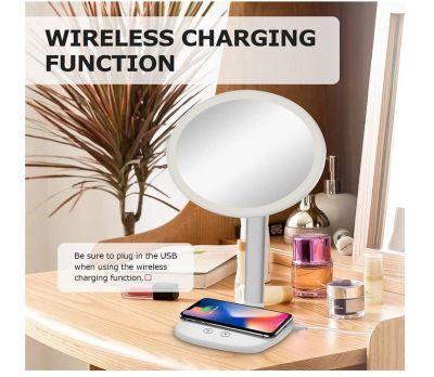 Mayepoo Schminkspiegel mit Smarthone-Ladestation für nur 9,19 Euro inkl. Versand