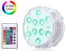 Vislone RGB Unterwasser Poolbeleuchtung (IP68) mit Fernbedienung für nur 6,99 Euro
