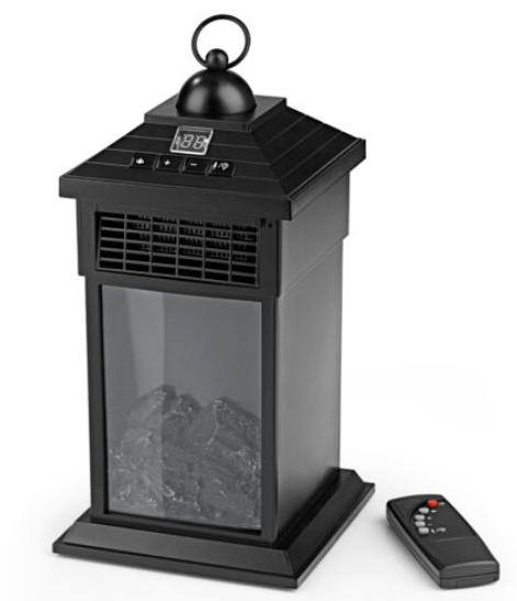 EASYmaxx LED-Laterne Kamin Flammeneffekt & Wärme 400W für nur 19,99 Euro inkl. Versand