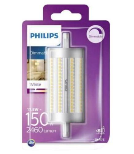 Philips LED R7S Lampe, 2460 Lumen entsprechen 150W, hohe Farbwiedergabe, warmweiß (3.000 Kelvin), dimmbar, matt für nur 9,99 Euro inkl. Versand