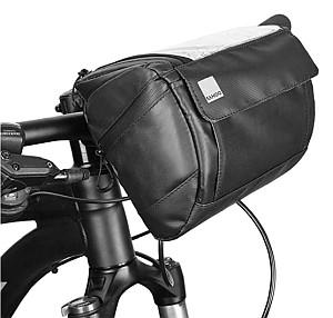 Docooler Fahrrad Lenkertasche mit transparentem PVC-Sichtfenster für 12,99 Euro