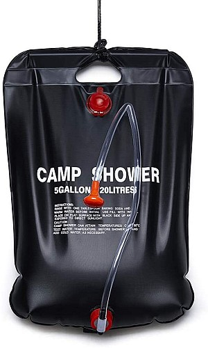 Gecheer Tragbare Outdoor Solar Camping Dusche für 9,99 Euro
