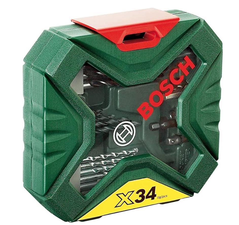 Bosch 34tlg. X-Line Classic Schrauber und Bohrer Set für nur 10,01 Euro