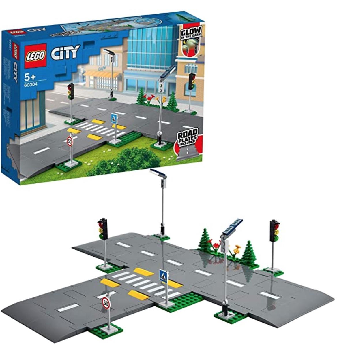 LEGO 60304 City Straßenkreuzung mit Ampeln für nur 12,99 Euro
