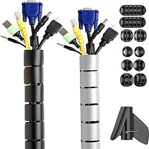 Wukong Kabelmanagement Set – Kabelschläuche+ Kabelbefestigungsclip für 8,39 Euro